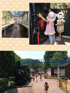 機関車で遊ぶ