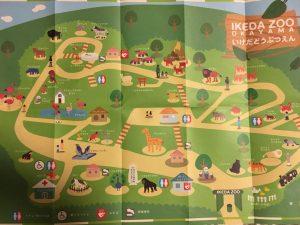 池田動物園園内MAP