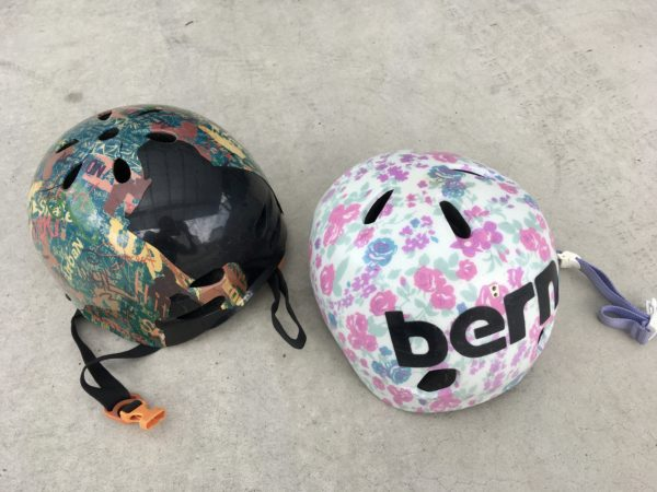子どものヘルメット