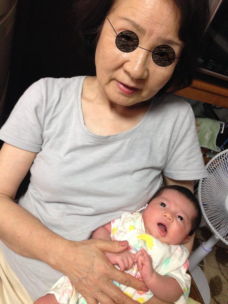 おばあちゃんとうめ子
