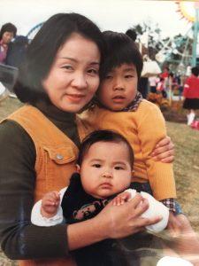 母と兄と私