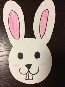 Easterバニー作成見本