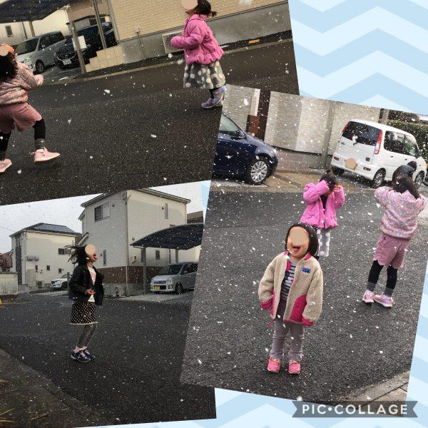 雪と子ども