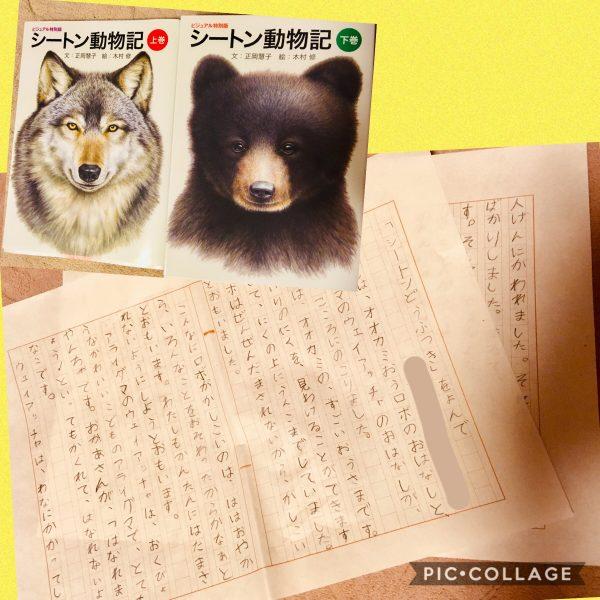 読書感想文(小1)