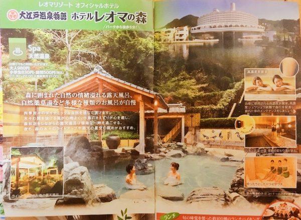 ホテルレオマの森大江戸温泉物語