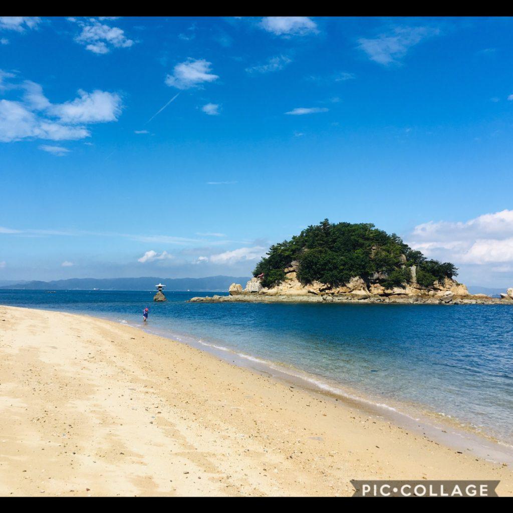白石島ビーチ