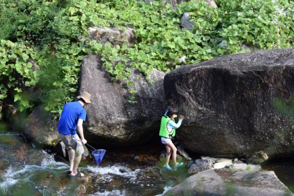 鳴滝森林公園水遊び